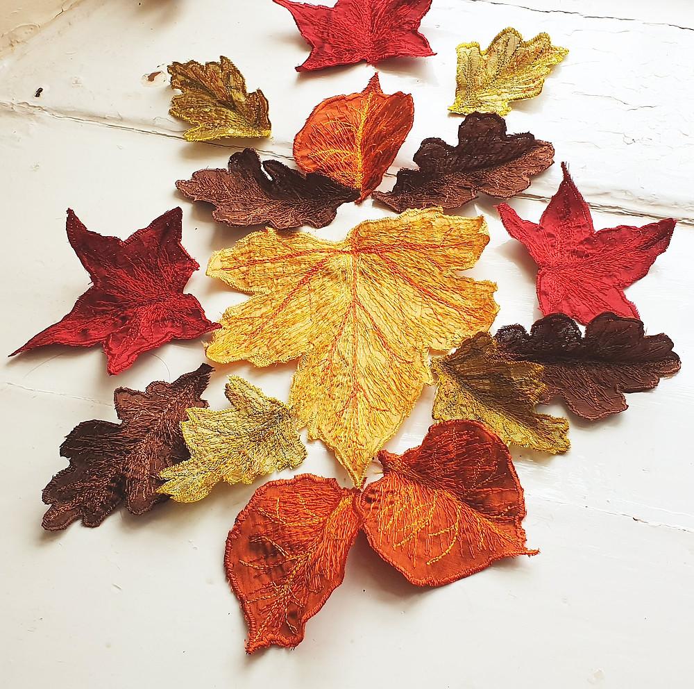 autumn decor, woodland decor, autumn leaf decoration