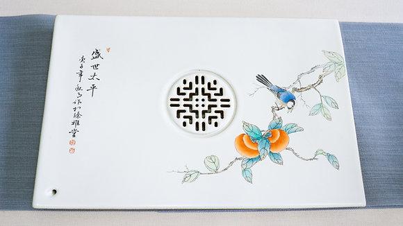 Hand Painted Tea Tray