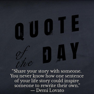 Want to share your story?