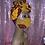 Thumbnail: Zendaya Head wrap w/Reversible Mask