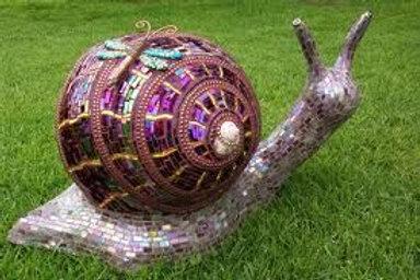 Mosaic A Bowling Ball