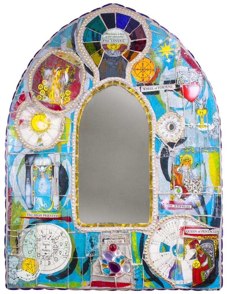 tarot card mosaic