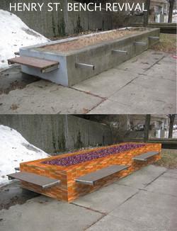 Henry Street Bench