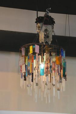 lighting chandelier skull 6