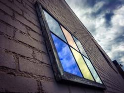 window colored mirror