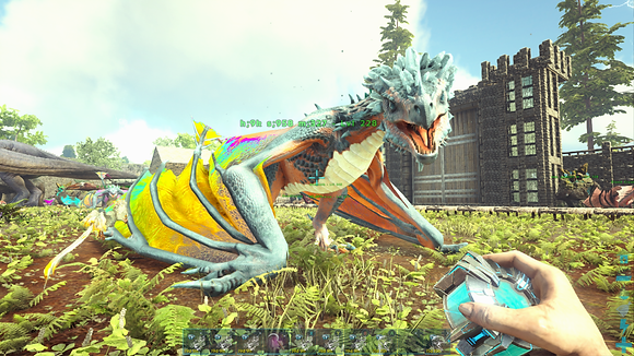 NA PVE 228 Unlevelled Tropical Crystal Wyvern