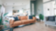 Cozy living room in Kelowna cleaned by an all natural, eco-friendly and professional house cleaning service.