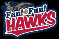 Fan!Fun!HAWKS 表紙ロゴ 福岡ソフトバンクホークス 公式ファンクラブ クラブホークス会報誌 デザイナー:kenbohhh/sPUNKy designz ディレクター:ジャパンプリント株式会社