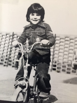 simone on his bike