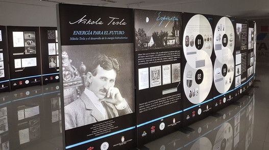 The exhibition of the Nikola Tesla Museum in Paraguay