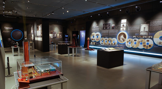 The Nikola Tesla Museum visits the Noesis Center in Thessaloniki