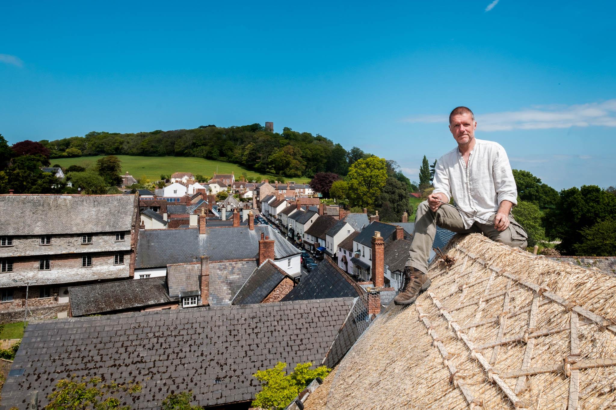 Wiring the ridge, Somerset