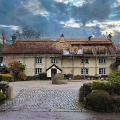 Thatched Cottage, Winkleigh, Devon. Mark Harrington Master Thatcher