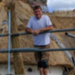 Mark Harrington, Roof Thatcher, Devon