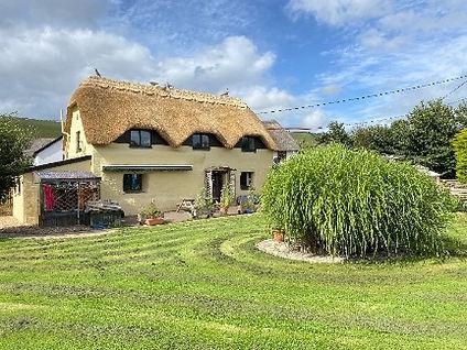 Thatched roof, Braunton, Devon