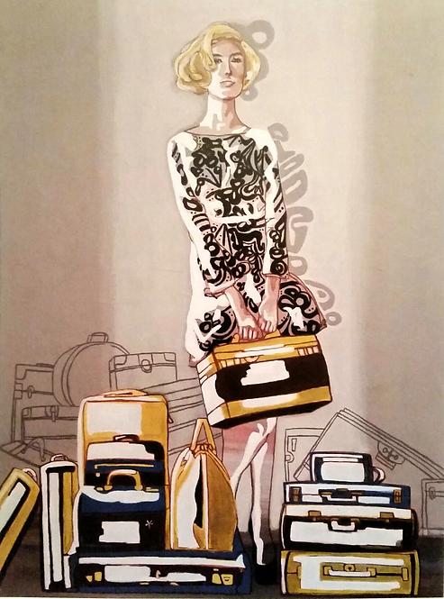 Bag Lady Print
