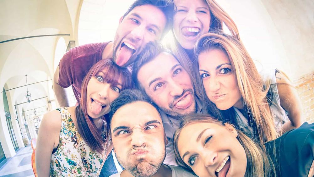 circulo social de alto estatus y valor a buenos amigos