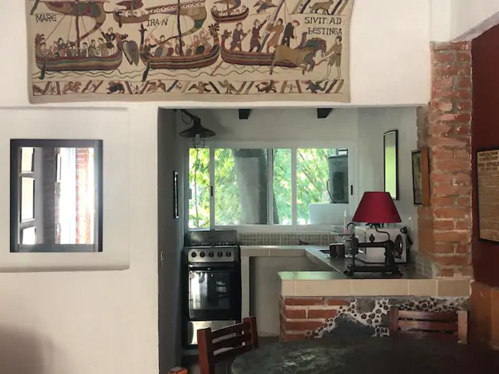 cabañas en tepoztlan con alberca y cocina