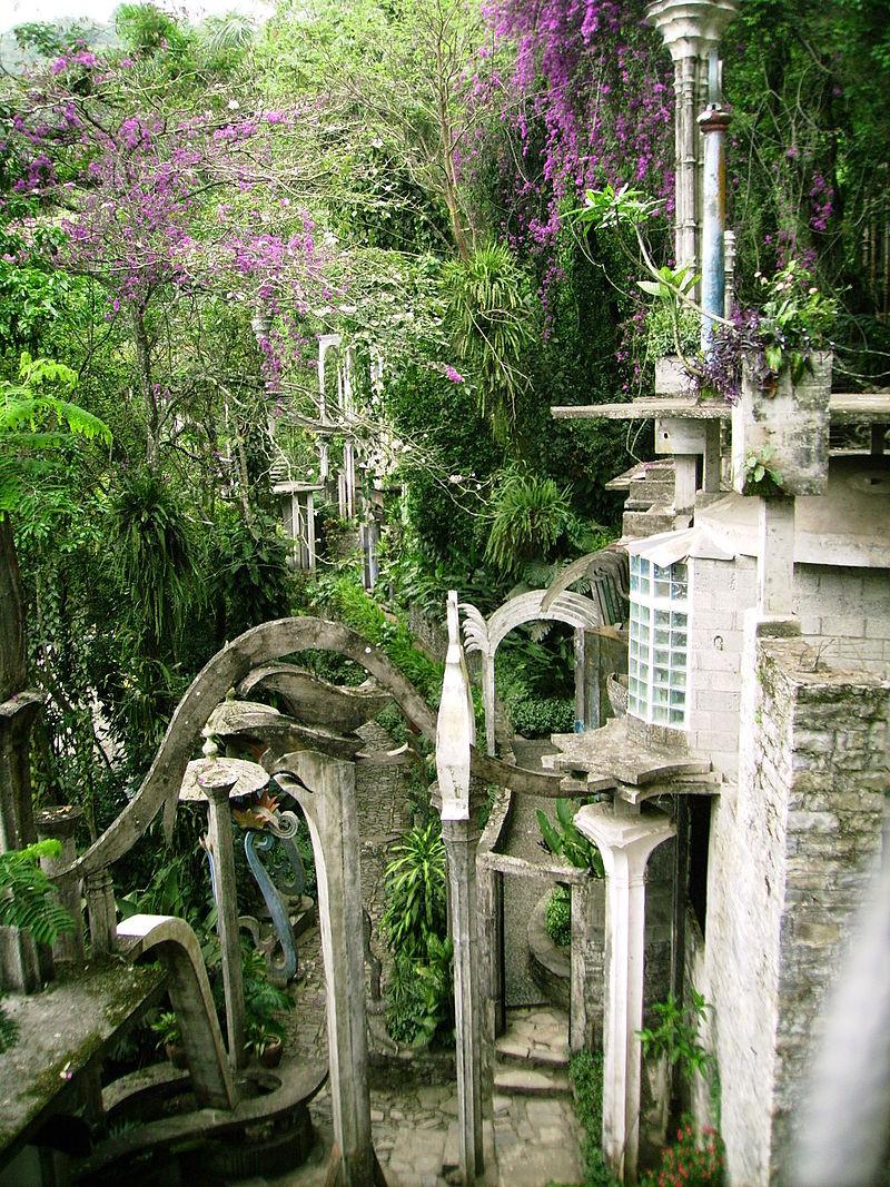 Jardín surrealista en Xilitl pueblos magicos mexico