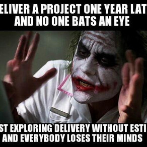 #NoEstimates solves your problem?