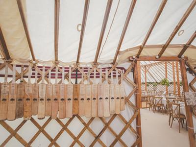 Yurt wedding decor, unique! Castle Wedding, Herefordshire.