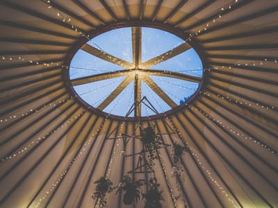 Wedding yurt inspiration, Kinnersley castle wedding, Yurt wedding