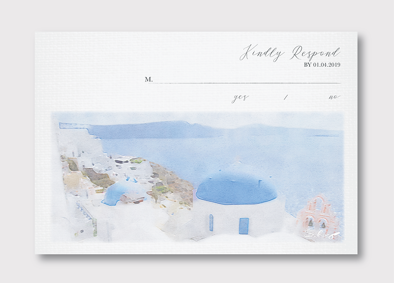 Santorini Response Card