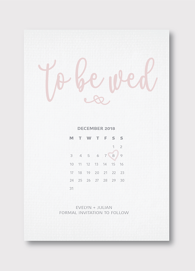 Quintessential Save the Date Card