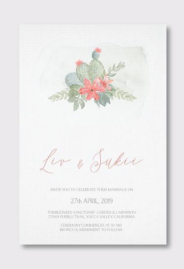 Joshua Tree Invitation Only