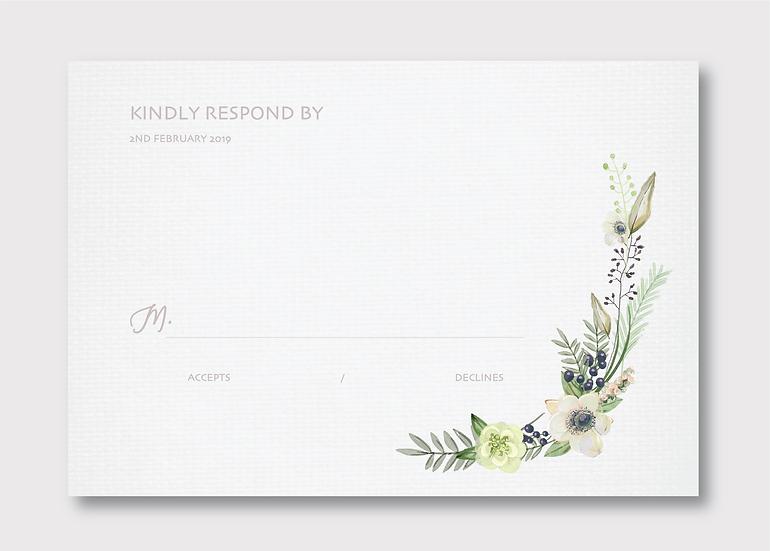 Floriat Response Card