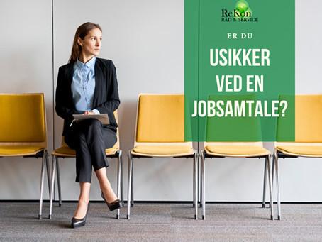 Er du usikker ved en jobsamtale?