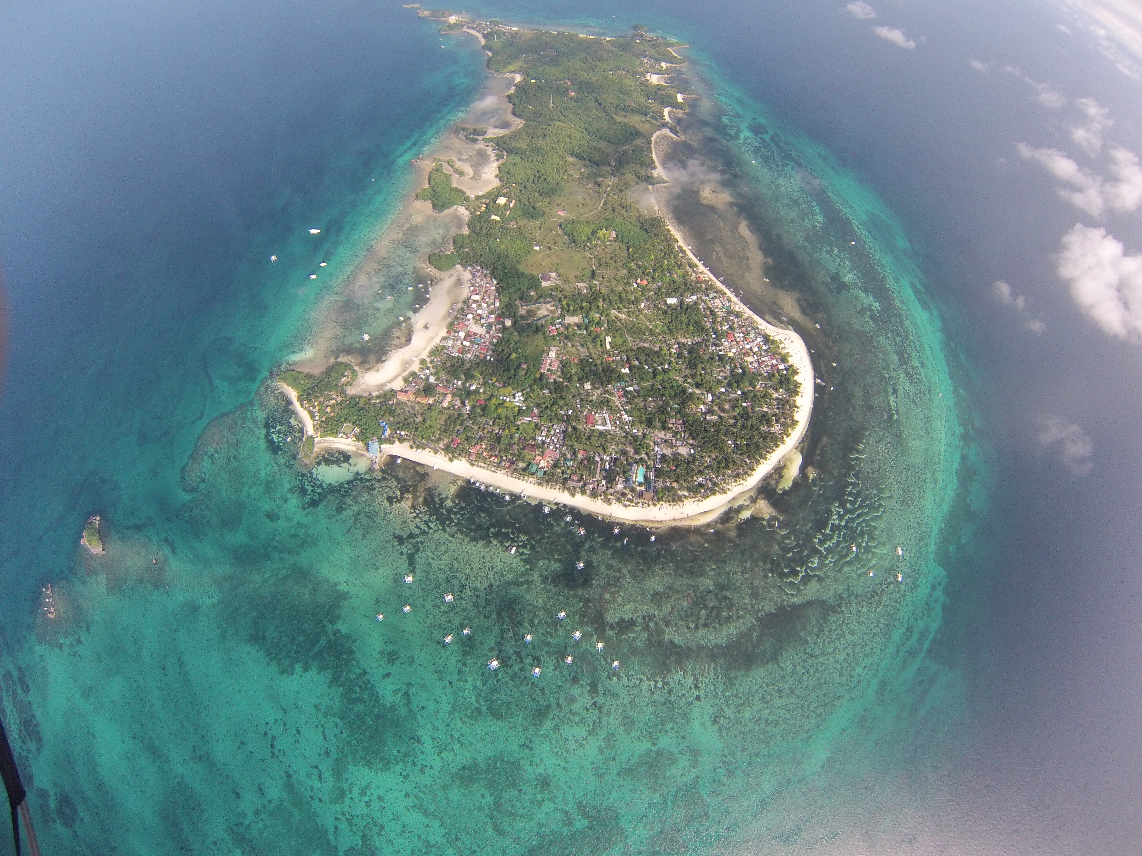 Malapascua from the Sky