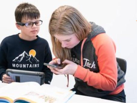 Teknisk Ukeblad: En 22,5g  boks på brillestangen gjør at Robert og Johanne følger undervisningen