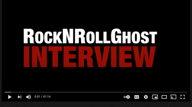 Rock 'n Roll Ghost S5 E02 - Interview with author Samantha Bennington (Falling Love Notes)