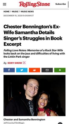 Chester Bennington's Ex-Wife Samantha Details Singer's Struggles in Book Excerpt
