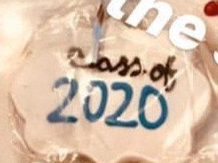 class 2020 sugar cookie