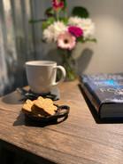 Tea, coffee and a good book
