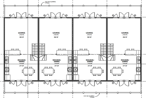 Second floor layout / floorplan