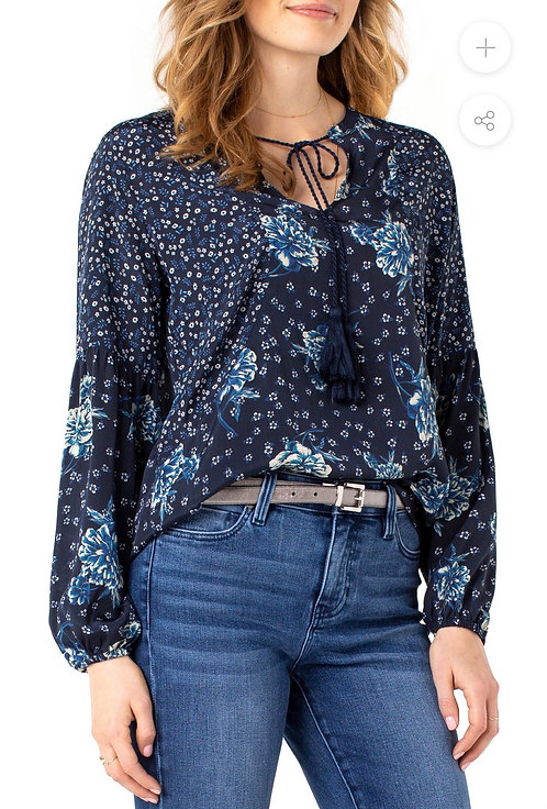 Liverpool Printed Blouse