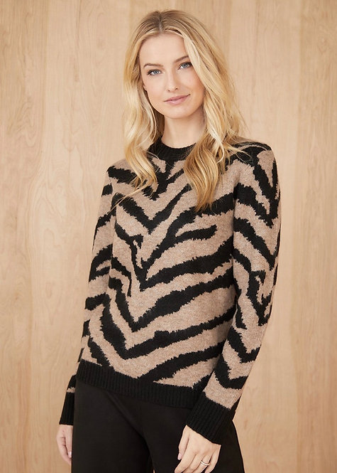 Karen Kane Animal Sweater