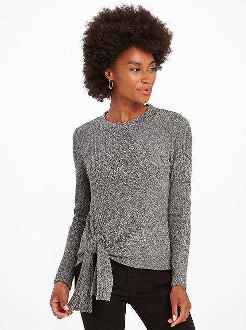 Grey Cozy Top