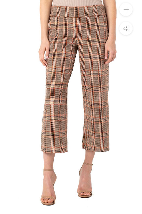 Liverpool Mabel Pull-on Wide Leg Pant