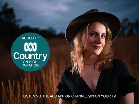 'Never See Me Cry' added to ABC Country