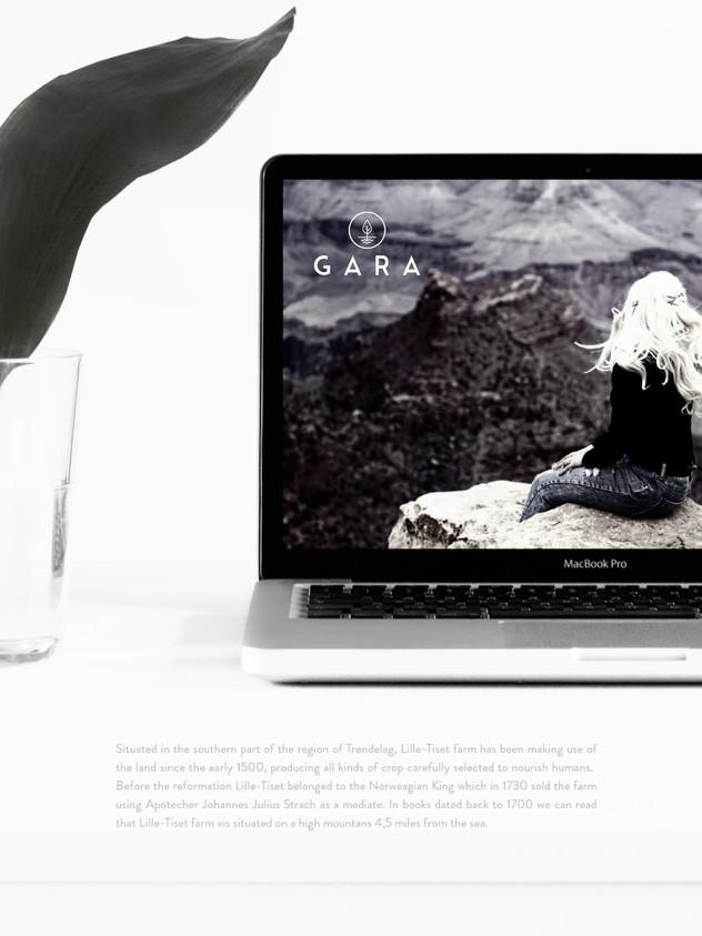 — Visuell identitet og nettbutikk for Gara. A trought taste of Norway. Inspired by nature in everyday life.
