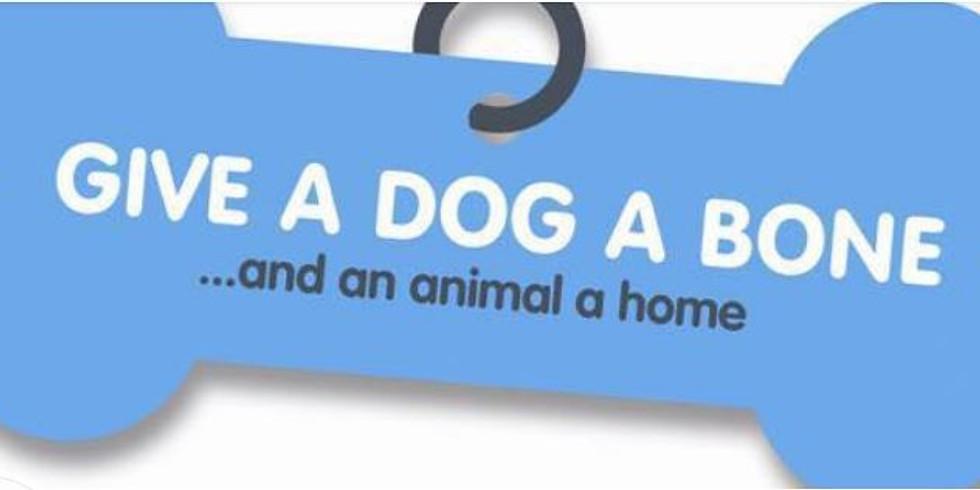 Give a dog a bone - January Art Auction