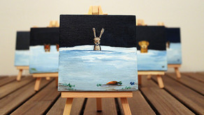 Custom Mini Canvases. A great Christmas gift!