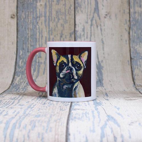 'Winnie' French Bulldog tea & coffee mug