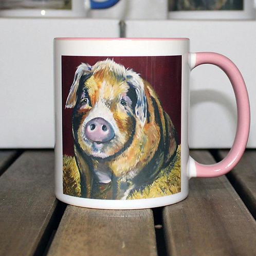 'Betsy' Pig Tea & Coffee Mug