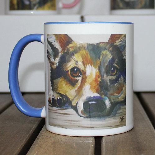 'Charlie' Corgi Mug
