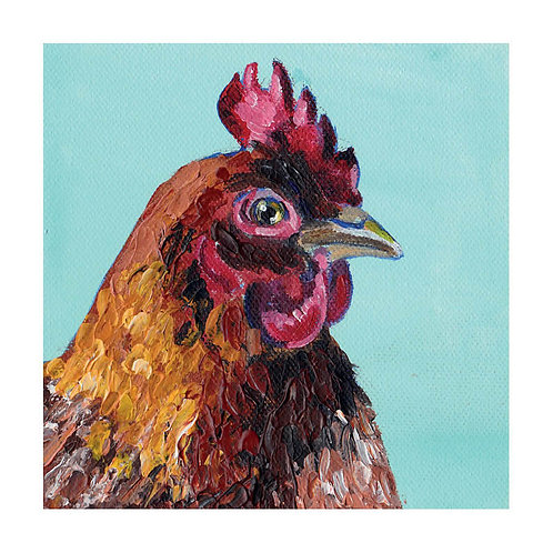 Hen prints - Henrietta (hen option available)